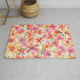 Jaunty Flowers of the Valley Rug