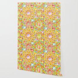 Circus Rainbow Mandala Wallpaper