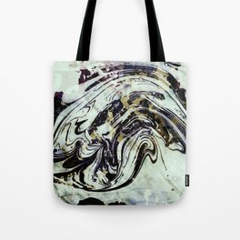 Marble black gold Tote Bag