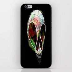 Rainbow Skull iPhone & iPod Skin