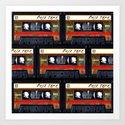 Retro cassette mix tape by komarwork