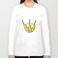 the flash Long Sleeve T-shirts featuring Flash by Msimioni