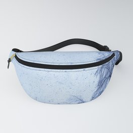 Just snowfall and birch Fanny Pack