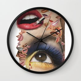 Tears and rumours Wall Clock