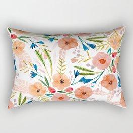Floral Dance Rectangular Pillow