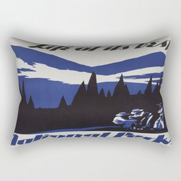Vintage poster - National parks Rectangular Pillow
