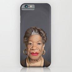 Celebrity Sunday ~ Maya Angelou iPhone 6s Slim Case