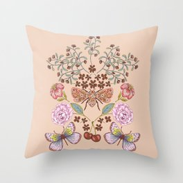 Nature's Poem  Throw Pillow
