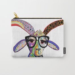 Hipster Goat Carry-All Pouch