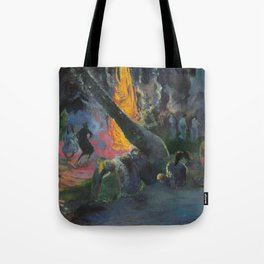 Upa Upa (The Fire Dance) by Paul Gauguin Tote Bag