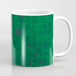 Green Tiles Coffee Mug
