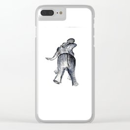 Ellie Clear iPhone Case