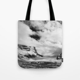 Mountains | Glaciers and clouds Tote Bag