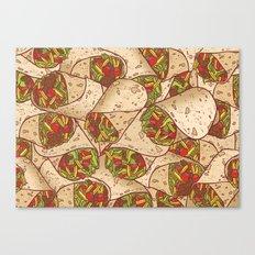 Burritos Canvas Print