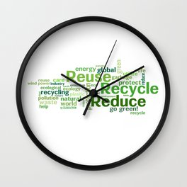 ECO Collection - model 5 Wall Clock
