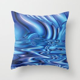 Imbued by Artist McKenzie (www.McKenzieArtStudio.com) Throw Pillow