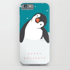 Holiday Penguin Slim Case iPhone 6