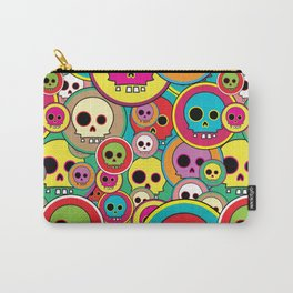 Button Skulls Carry-All Pouch