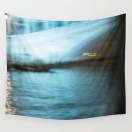 City Lights: Venice – Canal Grande – Ponte di Rialto # 201 Wall Tapestry