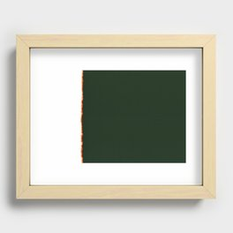 The End 06 Recessed Framed Print
