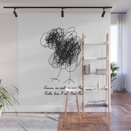 Piou the chick Wall Mural