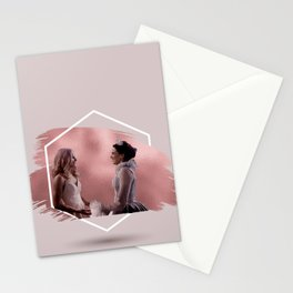 swan queen coronation Stationery Cards