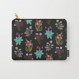 carnivorous plants black Carry-All Pouch