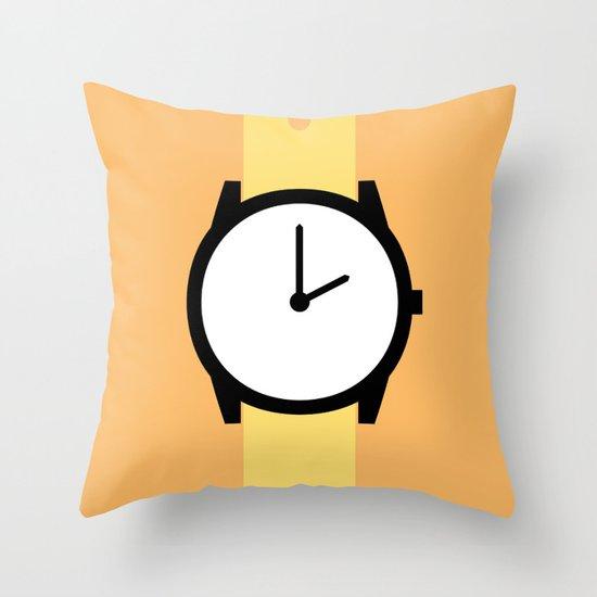 #87 Watch Throw Pillow