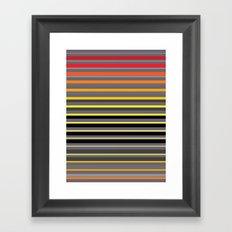 Sunset Window Framed Art Print