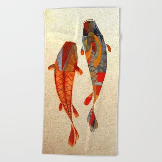 Kolors Koi Beach Towel