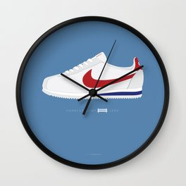 Forrest Gump famous shoes Wall Clock