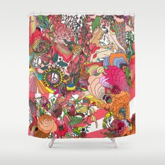 Of the Hare Meadow Shower Curtain