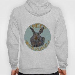 I Need Wild Places - Bunny Hoody