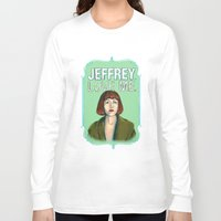 lebowski Long Sleeve T-shirts featuring BIG LEBOWSKI- Maude Lebowski - Jeffrey. Love me. by Michelle Eatough