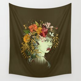Persephone, goddess of Spring Wall Tapestry