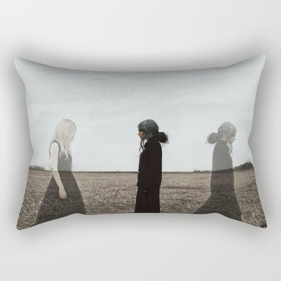You can not escape from getting older.. Rectangular Pillow