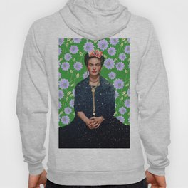 Flowers Frida Kahlo VI Hoody