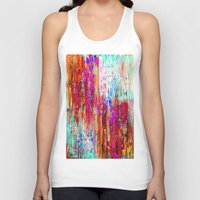 valentines Tank Tops featuring Valentines Brunch by Glint & Lime Art