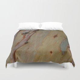 Eucalyptus tree bark Duvet Cover