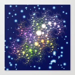 Space Pearls Canvas Print