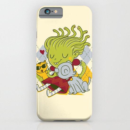 Medusa had a pet rock. iPhone & iPod Case