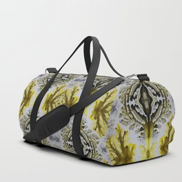 Corals, acrylic ink on canvas Duffle Bag