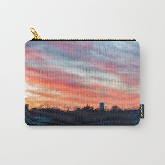 Winter sunset in Rockport Carry-All Pouch