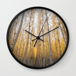 Boardman Trees Wall Clock