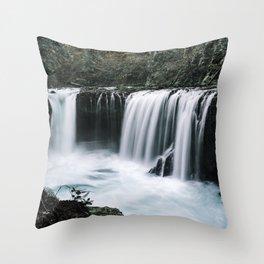 Waterfall Overhaul Throw Pillow