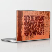 wallet Laptop & iPad Skins featuring Fight Club by elvisbr