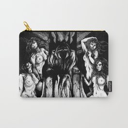 Evil King on Throne Carry-All Pouch