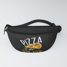 Pizza Pizzafan Pizza Saying Funny Fanny Pack