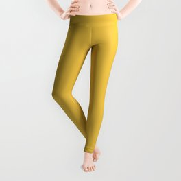 Vintage New England Shaker Village Mustard Milk Paint Leggings