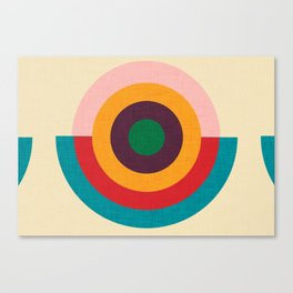 Solaris #homedecor #midcenturydecor Canvas Print